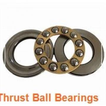 25 mm x 80 mm x 14 mm  NKE 54407 thrust ball bearings