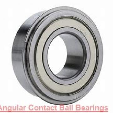 45 mm x 100 mm x 25 mm  FBJ QJ309 angular contact ball bearings