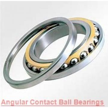 55 mm x 100 mm x 21 mm  NSK 7211 B angular contact ball bearings
