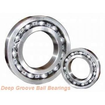 80 mm x 170 mm x 68,3 mm  ISO 63316 ZZ deep groove ball bearings