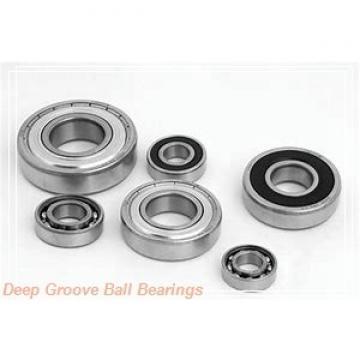 6 mm x 17 mm x 6 mm  NSK 606 ZZ deep groove ball bearings