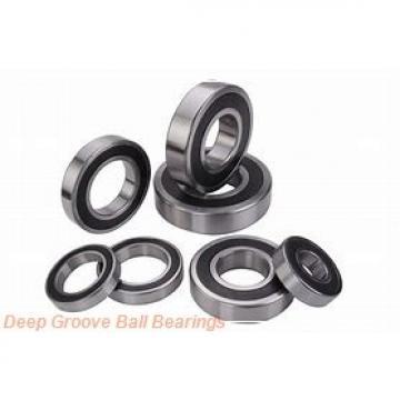 30 mm x 75 mm x 21 mm  C&U 30TM04-2RSN deep groove ball bearings