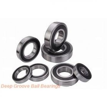 55 mm x 100 mm x 55,6 mm  KOYO UC211L3 deep groove ball bearings