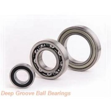 25 mm x 62 mm x 12 mm  PFI 98305 C3 deep groove ball bearings