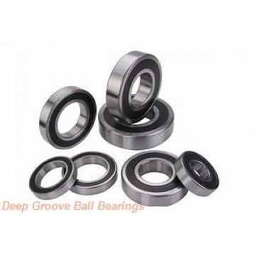 20 mm x 52 mm x 15 mm  Timken 304K deep groove ball bearings