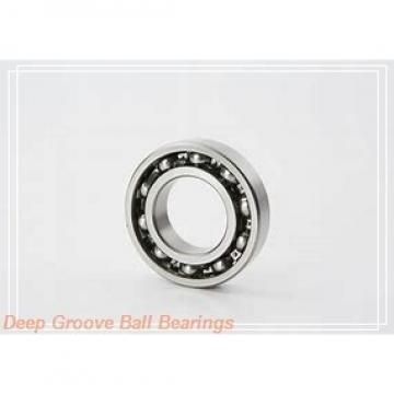 70,000 mm x 125,000 mm x 24,000 mm  NTN 6214ZZNR deep groove ball bearings