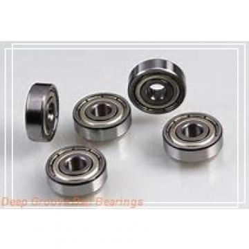 55 mm x 100 mm x 35 mm  ISO UK211 deep groove ball bearings