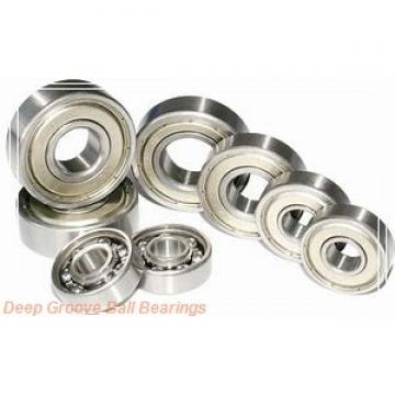 35 mm x 80 mm x 21 mm  NACHI 6307-2NKE9 deep groove ball bearings