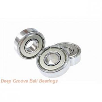 5 mm x 16 mm x 5 mm  PFI 625-2RS C3 deep groove ball bearings