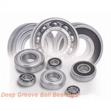 80 mm x 100 mm x 10 mm  KOYO 6816-2RU deep groove ball bearings