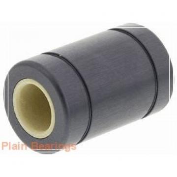 80 mm x 180 mm x 43,5 mm  LS GX80N plain bearings