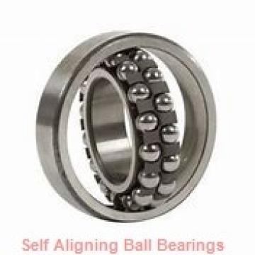 25 mm x 52 mm x 15 mm  FBJ 1205K self aligning ball bearings