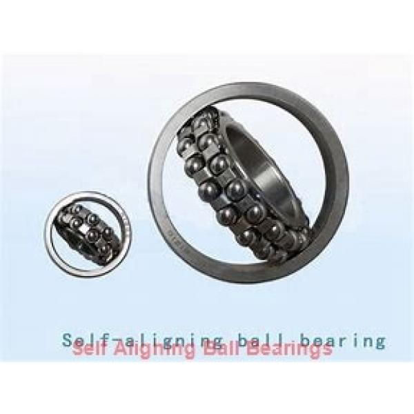 25 mm x 52 mm x 18 mm  ISO 2205K-2RS+H305 self aligning ball bearings #1 image